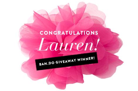 Giveaway.congrats