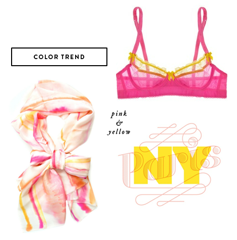 Color-trend-pink-yellow